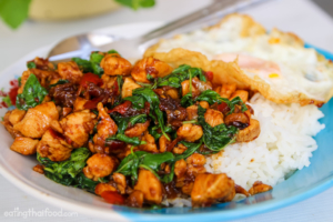 Thai chicken dishes